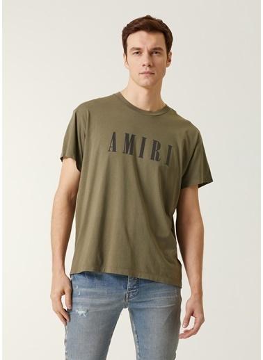 Amiri Polo Yaka T-shirt Haki
